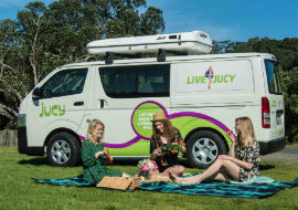 new jucy campervan four berth compass