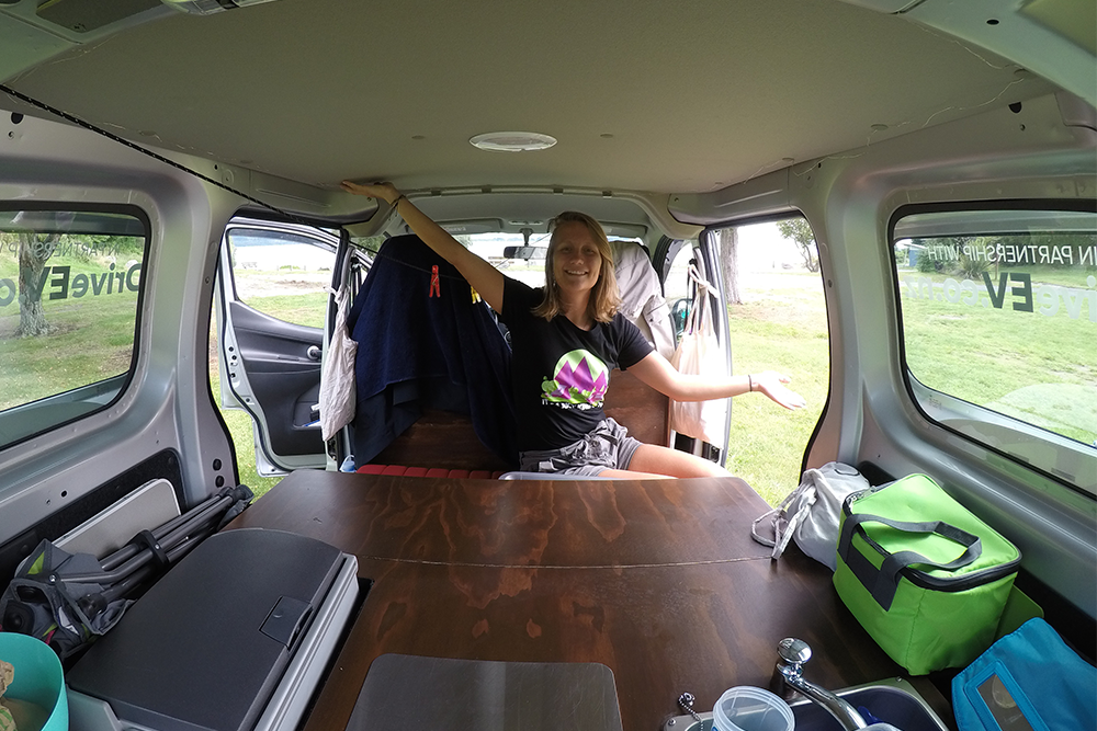 Tiny Home Designs: Take A Tour Of JUCY's Electric Campervan Prototype