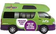 Jucy car rental and campervan hire melbourne 13